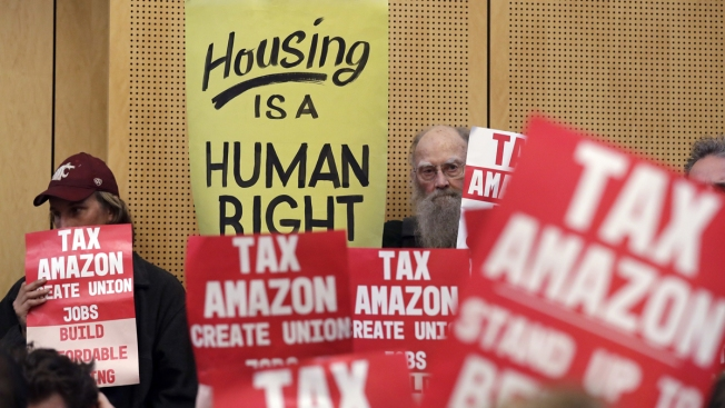 Seattle OKs Tax on Companies Like Amazon, Starbucks to Help Homeless