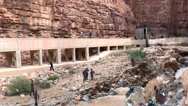Death Toll in Jordan Flood Rises to 21, Mostly Children