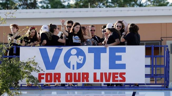 Parkland Survivors Vote For 1st Time, Months After Massacre