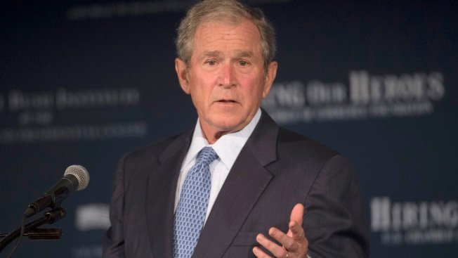 On Muslims, Democrats Find an Unlikely Ally: George W. Bush