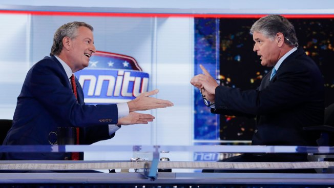 De Blasio Talks Taxes, Immigration and Health Care on Hannity
