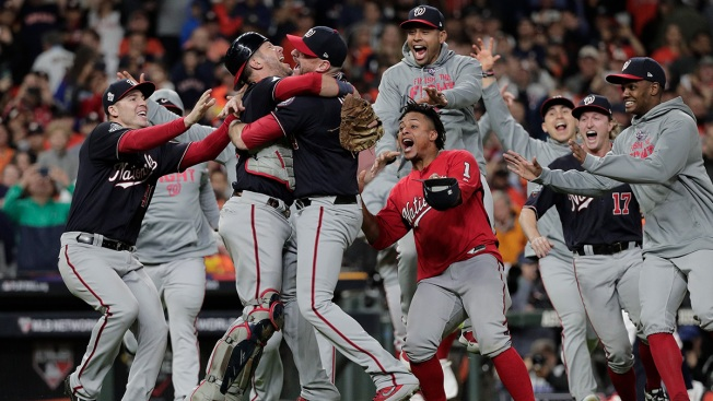 [NATL] Top Sports Photos: Washington Nationals Win World Series, and More