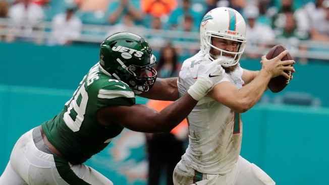 Dolphins Get First Win of 2019, Top Jets 26-18