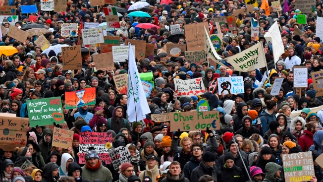 Global Climate Protests Ahead of UN Meeting in Madrid