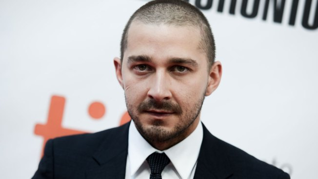 Fans Wait Patiently to See Shia LaBeouf Watch His Own Movies