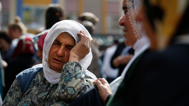 Mourners Gather in Turkey's Capital in Aftermath of Deadly Blasts
