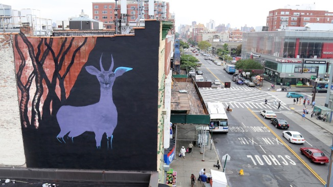NYC Street Art Makes Statement for Human Rights in Iran