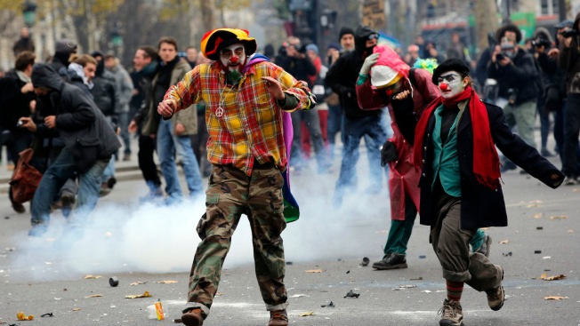 Global Climate March: Clashes in Paris as Protesters Rally Ahead of COP21