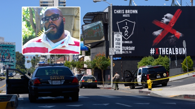 Marion 'Suge' Knight Sues Chris Brown, Nightclub Over 2014 Shooting