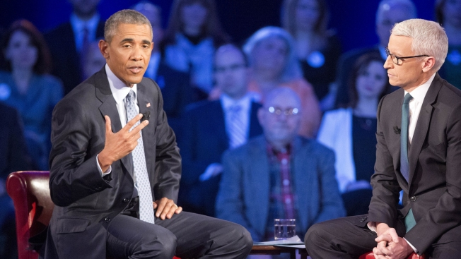 Obama Makes His Gun Control Pitch in Media Blitz