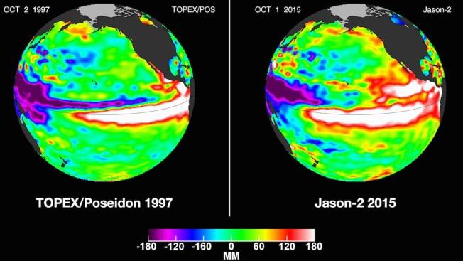 NOAA: Thanks to El Niño, the U.S. Looks Pretty Wet This Winter