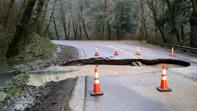 Pacific Northwest Pounded by Recordbreaking Rainfall