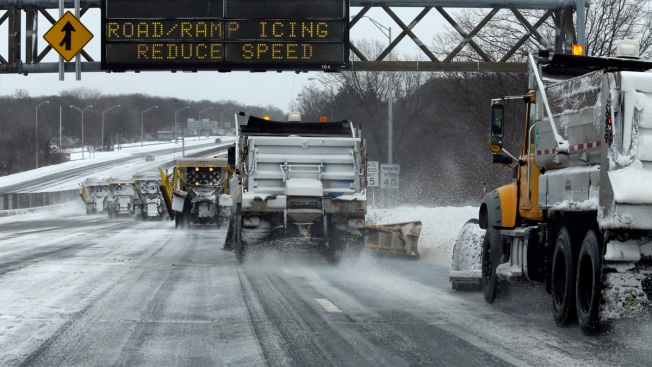 Coastal Storm to Drop More Snow on the Tri-State Area Ahead of Arctic Chill