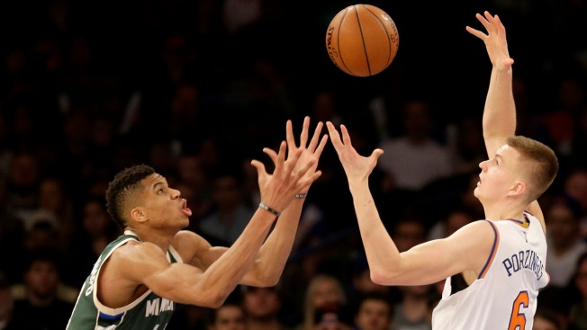 Knicks Hold off Celtics After Anthony Sprains Ankle