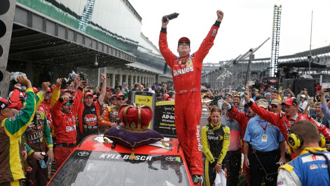 Kyle Busch Grabs Elusive Indy Victory as Comeback Continues