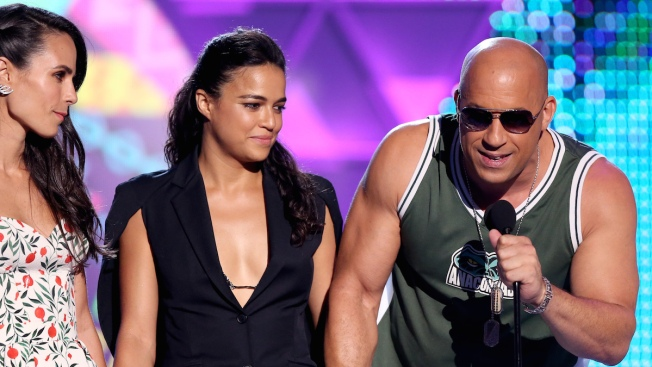 Vin Diesel Praises Paul Walker and Daughter Meadow Walker During Emotional Teen Choice Awards Speech