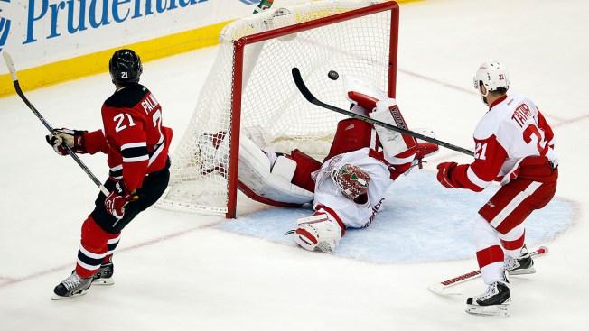 Palmieri Scores in OT, Devils Edge Red Wings 3-2