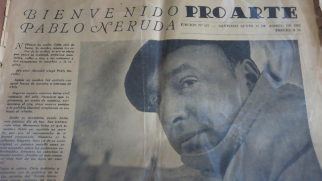 Pablo Neruda didn't die of cancer