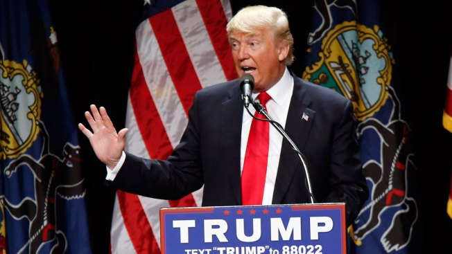 Donald Trump Holds 29-Point Lead in NY: NBC4/WSJ/Marist Poll