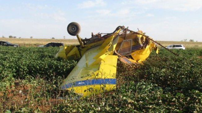 Pilot Crashes Crop Duster in Gender Reveal Gone Wrong