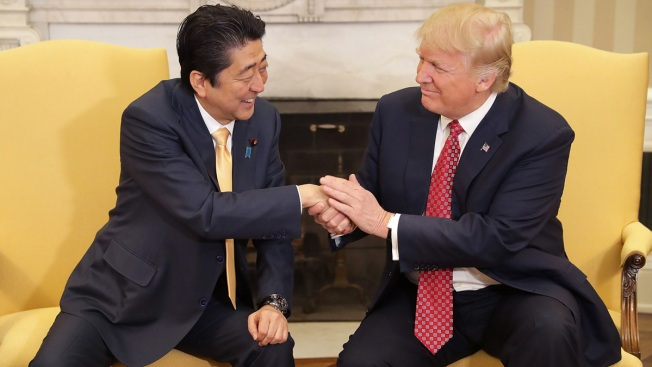 Japan Reportedly Nominated Trump for Nobel Peace Prize After White House Asked