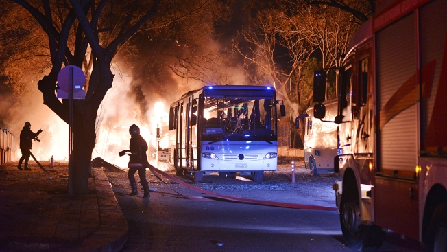 Explosion in Ankara Kills at Least 28, Wounds 61 Others