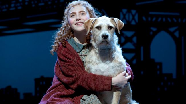 "Review: Lilla Crawford Is a Ray of Sunshine as ""Annie"""