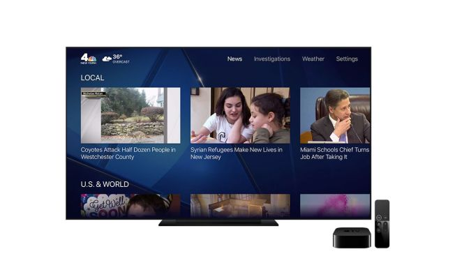 Get NBC New York on Your Apple TV