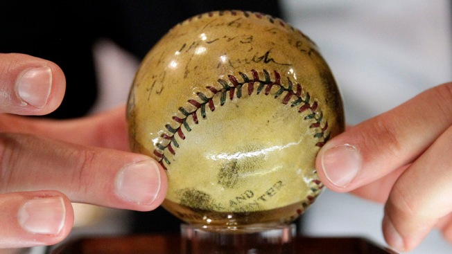 Babe Ruth's First Home Run Ball to Be Auctioned