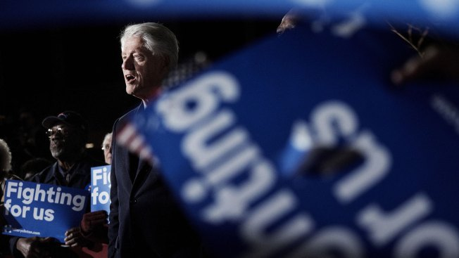 Protester to Bill Clinton: Hillary Tried to Cover Up Benghazi