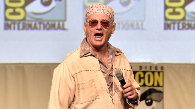 Comic-Con: Bill Murray Says He's a Fan of Miley Cyrus