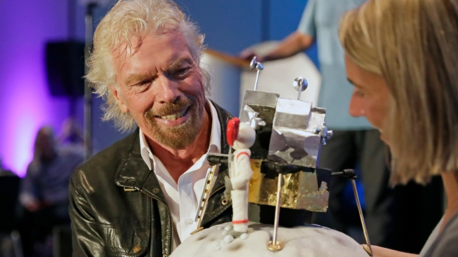 Richard Branson Inspired by Apollo, His Own Space Shot Soon