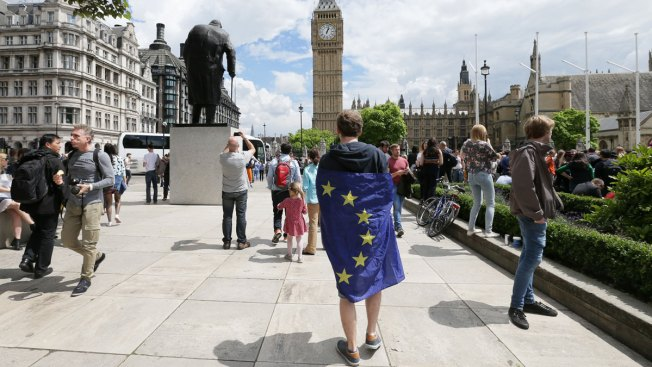 Thousands Protest Vote to Leave European Union in London