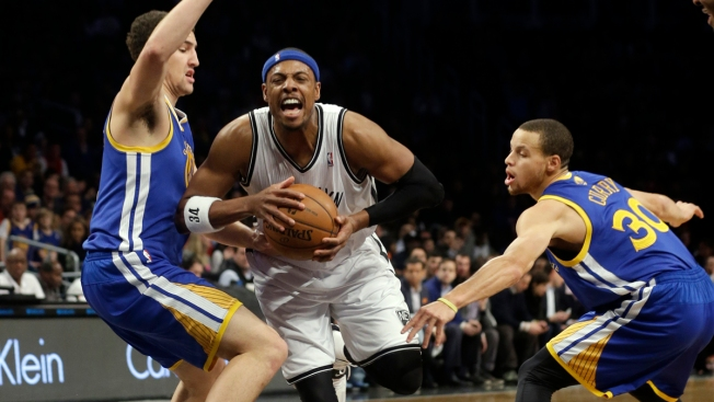Nets Stop Warriors' Streak At 10, Win 102-98