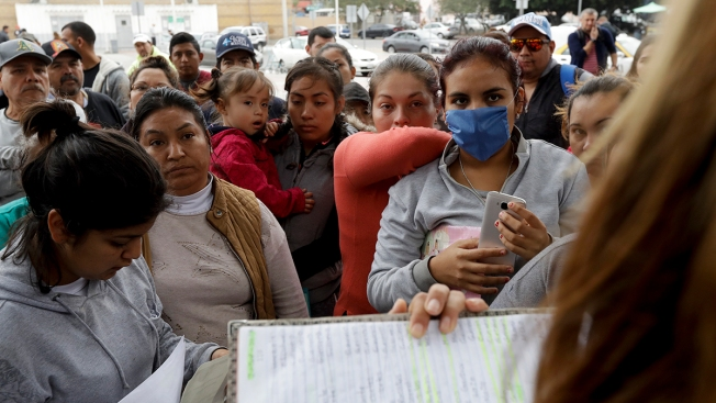 Planes, Buses Moving Migrants From Crowded Border Shelters