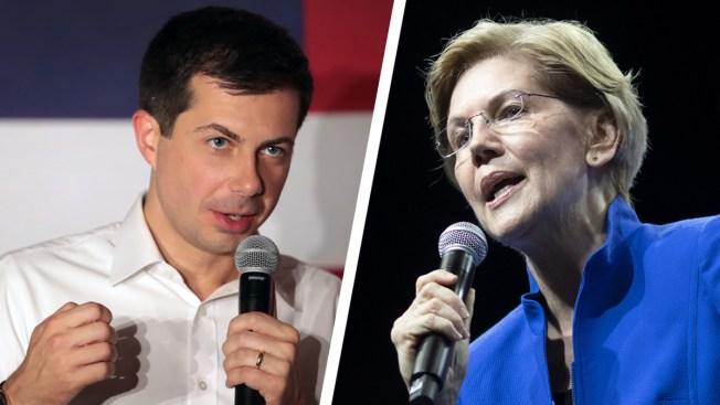 Warren, Buttigieg Circle Each Other in Iowa as Caucuses Near