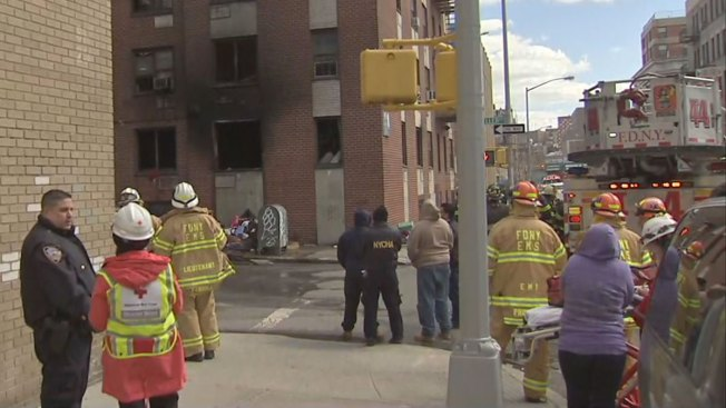9 Injured, Including 5 Kids, in Blaze at Bronx Building: FDNY