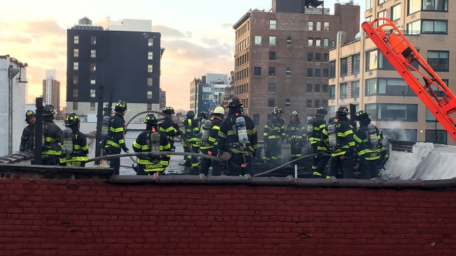 Man, 76, dies in NY high-rise apartment building fire