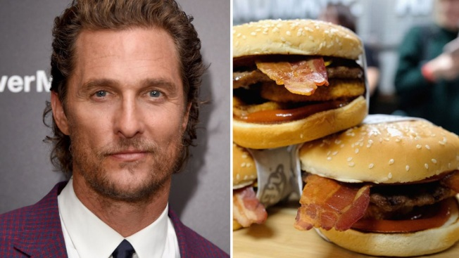 Image result for western bacon cheeseburger matthew mcconaughey