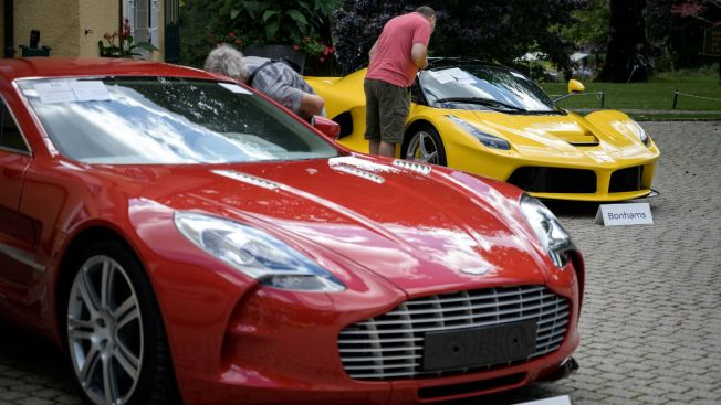 Supercars Taken From African Leader's Son Auctioned for $27M