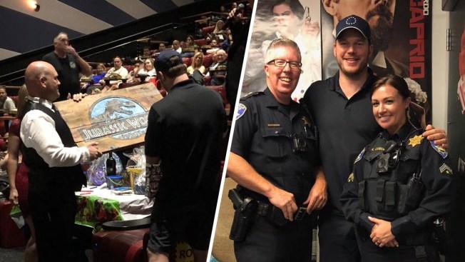 'Jurassic World: Fallen Kingdom' Star Chris Pratt Surprises Moviegoers at Vacaville Theater