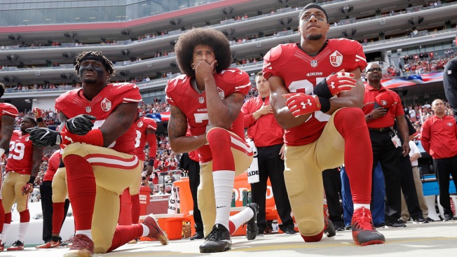 Donald Trump: NFL Should Outlaw Kneeling During National Anthem