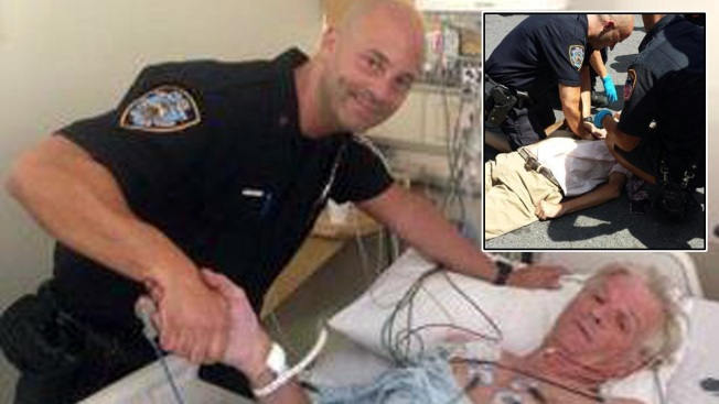 Cop Helps Revive Unconscious Man in Union Square: NYPD