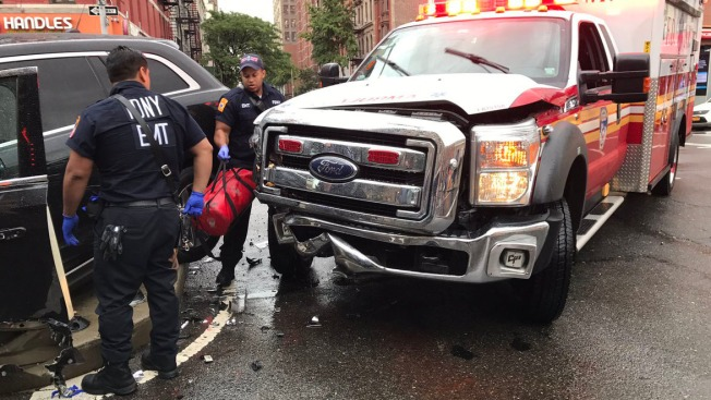 FDNY Ambulance Collides With SUV on Way to Emergency: Officials