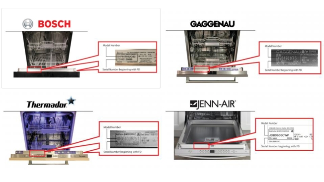 More Than 400,000 Dishwashers Recalled Over Fire Hazard