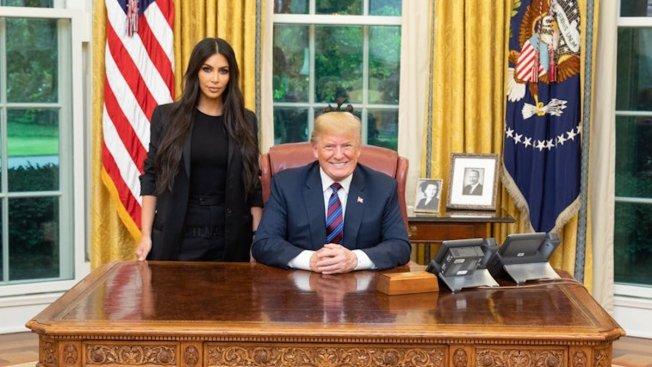 Kardashian West Visits White House to Talk Prison Reform, Urge Pardon