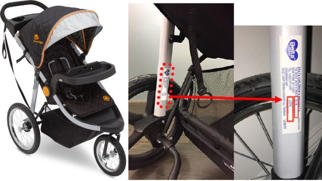J Is for Jeep Jogging Strollers Recalled Over Fall Hazard