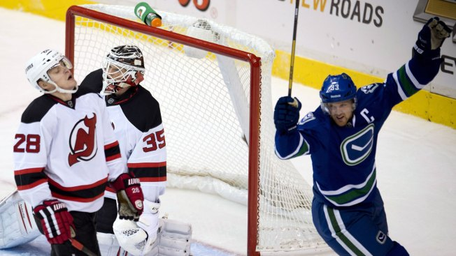 Devils Fall in Overtime to Canucks