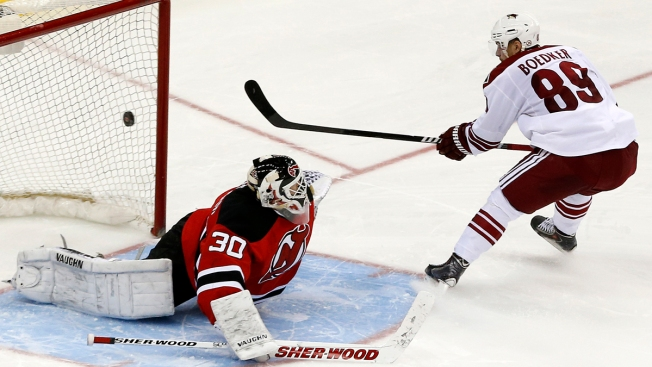 Devils Fall to Coyotes in Shootout 3-2