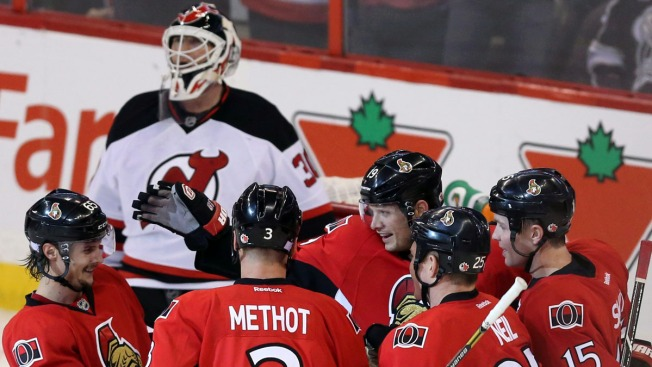Devils Remain Winless in 5-2 Loss to Senators